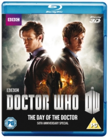 Doctor Who: The Day of the Doctor, Blu-ray