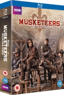 The Musketeers: Series 2, Blu-ray