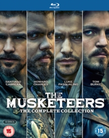 The Musketeers: The Complete Collection, Blu-ray