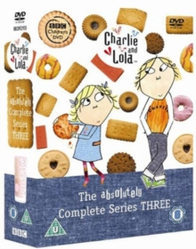 Charlie and Lola: The Absolutely Complete Series 3, DVD