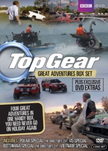 Top Gear - The Great Adventures: Collection, DVD