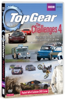 Top Gear - The Challenges: Volume 4, DVD