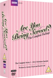 Are You Being Served?: The Complete Package, DVD