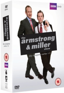 The Armstrong and Miller Show: Series 1-3, DVD