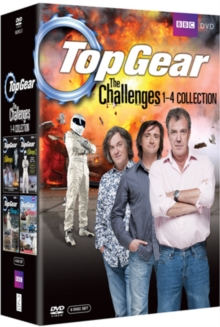 Top Gear - The Challenges: Volumes 1-4, DVD