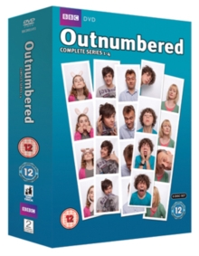 Outnumbered: Series 1-4, DVD
