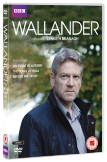 Wallander: Series 3, DVD