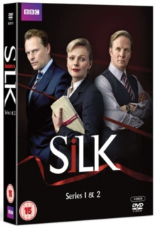 Silk: Series 1 and 2, DVD  DVD
