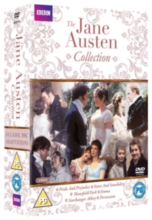 The Jane Austen Collection, DVD DVD