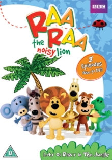 Raa Raa the Noisy Lion: Lots of Raa's in the Jungle, DVD