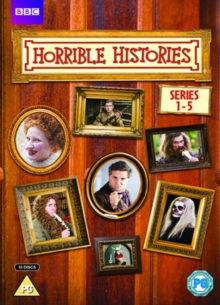 Horrible Histories: Series 1-5, DVD