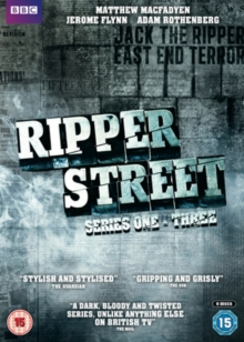 Ripper Street: Series 1-3, DVD