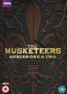 The Musketeers: Series 1 and 2, DVD