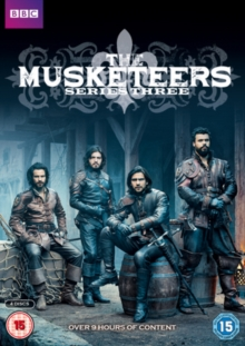 The Musketeers: Series 3, DVD