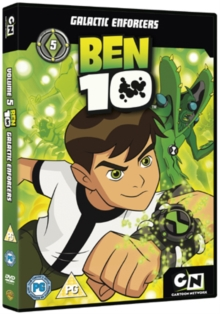 Ben 10: Volume 5 - Galactic Enforcers, DVD  DVD
