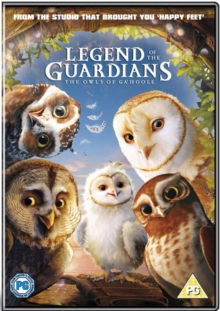 Legend of the Guardians - The Owls of Ga'Hoole, DVD