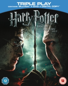 Harry Potter and the Deathly Hallows: Part 2, Blu-ray