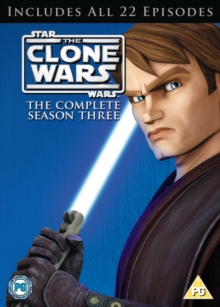 Star Wars - The Clone Wars: Season 3, DVD