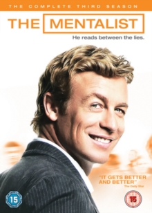 The Mentalist: The Complete Third Season, DVD DVD