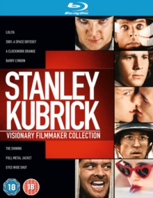 Stanley Kubrick Collection, Blu-ray