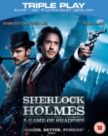 Sherlock Holmes: A Game of Shadows, Blu-ray