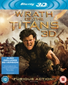 Wrath of the Titans, Blu-ray  BluRay