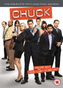 Chuck: The Complete Fifth and Final Season, DVD