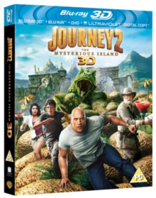 Journey 2 - The Mysterious Island, Blu-ray