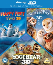 Happy Feet 2/Yogi Bear/Legend of the Guardians - The Owls Of..., Blu-ray