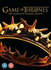 Game of Thrones: The Complete Second Season, DVD  DVD