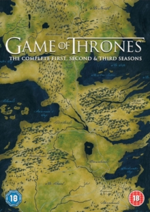 Game of Thrones: The Complete First, Second & Third Seasons, DVD DVD