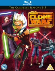 Star Wars - The Clone Wars: The Complete Seasons 1-5, Blu-ray