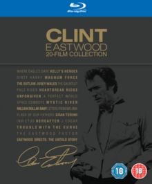 Clint Eastwood 20 Film Collection, Blu-ray