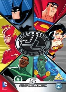 Justice League: Collection, DVD