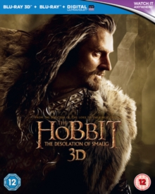 The Hobbit: The Desolation of Smaug, Blu-ray
