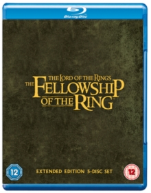 Lord of the Rings: The Fellowship of the Ring - Extended Cut, Blu-ray BluRay