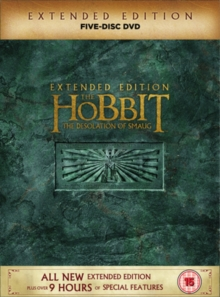 The Hobbit: The Desolation of Smaug - Extended Edition, DVD