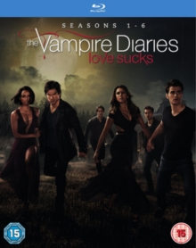 The Vampire Diaries: Seasons 1-6, Blu-ray