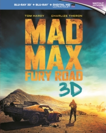 Mad Max: Fury Road, Blu-ray  BluRay