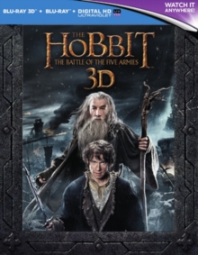 Hobbit: The Battle of the Five Armies - Extended Edition, Blu-ray