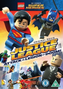 LEGO: Justice League - Attack of the Legion of Doom, DVD