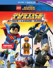 LEGO: Justice League - Attack of the Legion of Doom, Blu-ray  BluRay