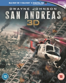 San Andreas, Blu-ray