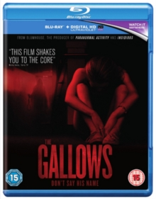 The Gallows, Blu-ray