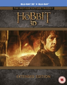 Hobbit: Trilogy - Extended Edition, Blu-ray