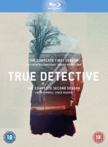 True Detective: The Complete First and Second Season, Blu-ray