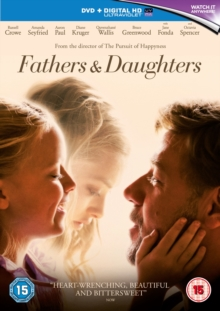 Fathers and Daughters, Blu-ray