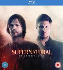 Supernatural: Seasons 1-10, Blu-ray BluRay