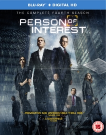 Person of Interest: The Complete Fourth Season, Blu-ray