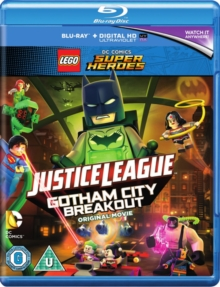 LEGO: Justice League - Gotham City Breakout, Blu-ray